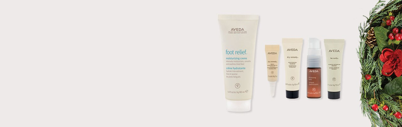 Receive your choice of 5-piece bonus gift with your Aveda purchase