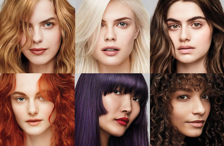 Natural Hair Color Hair Salon Services Aveda