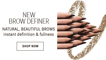 Click shop now button to shop brow definer