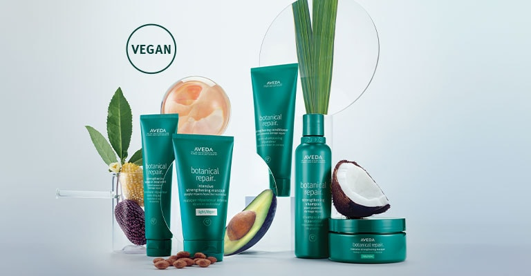 Shop plant powered, bond-building treatment to strengthen and repair damaged hair.