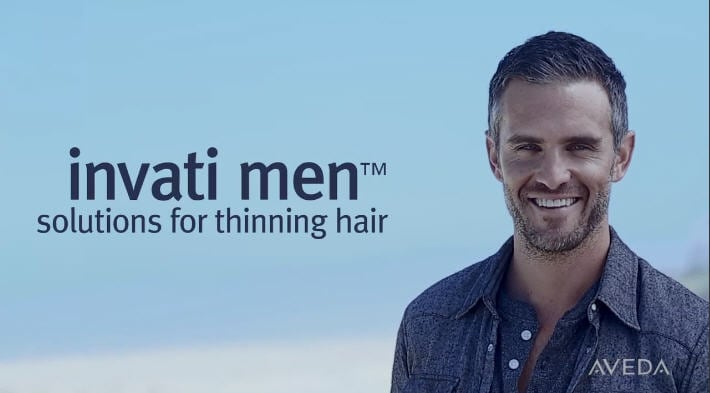 Click on video demonstrate  about invati-men-nourishing-exfoliating-shampoo