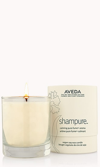 "shampure<span class=""trade"">™</span> vegan soy wax candle"