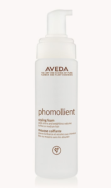 The Best Hair Products For Each Hair Type | Aveda Phomollient Styling Foam | Hairstyle on Point