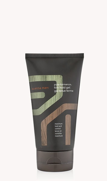 "aveda men pure-formance<span class=""trade"">™</span> firm hold gel"