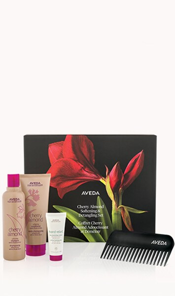 cherry almond softening and detangling set