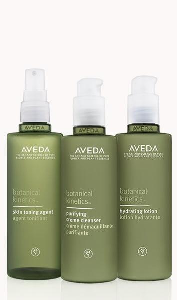 Botanical Kinetics Daily Care For Dry Normal Skin Set Aveda