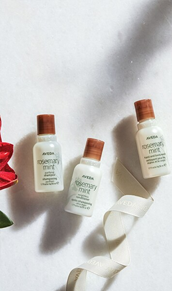rosemary mint travel trio