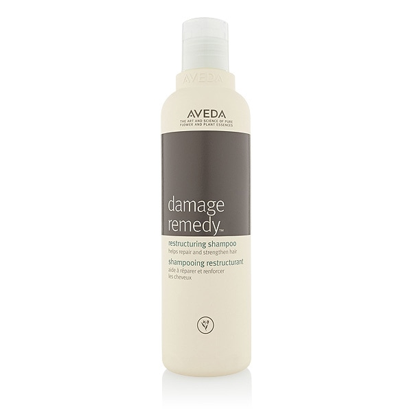 helps repair hair damaged by heat and chemicals